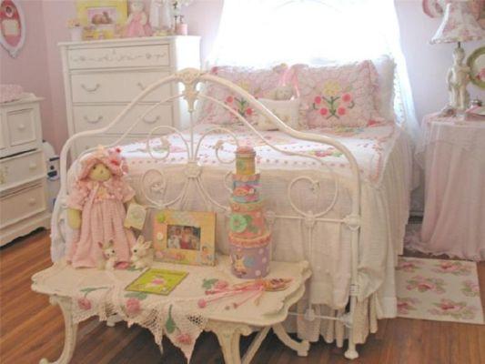 детская комната для девочки в стиле романтизм