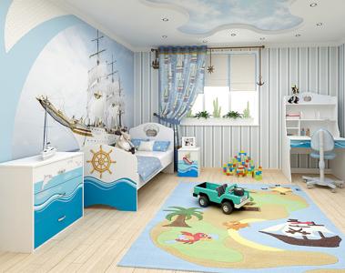 идеи для детской комнаты для мальчиков фото