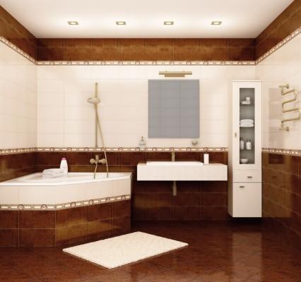 как рассчитать сколько нужно плитки в ванную