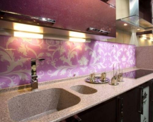 отделка кухни пластиковыми панелями
