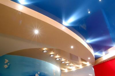 ремонт потолка - подвесная кнстуркция
