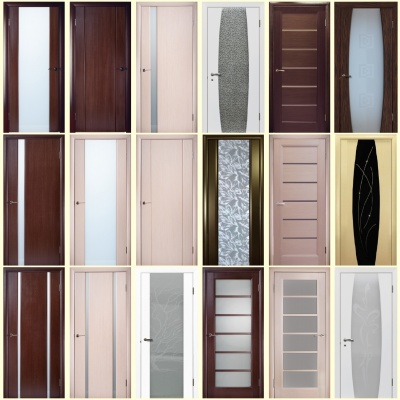 виды межкомнтных дверей