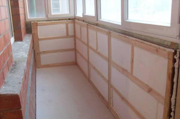 Как утеплить балкон своими руками в панельном 783