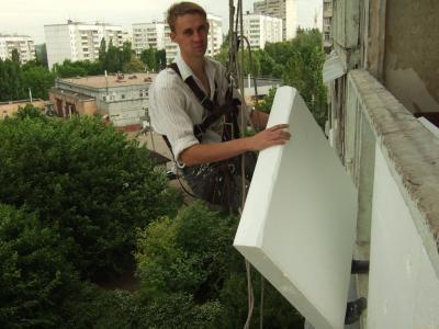 утепление балкона снаружи