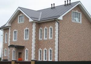 Фиброцементные фасадные панели для отделки дома снаружи