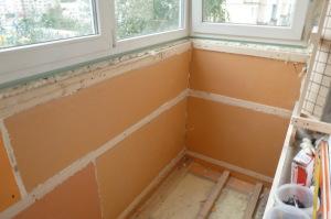 Утепление балкона для монтажа пластиковых панелей
