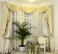 Класика - красивые шторы в гостиную