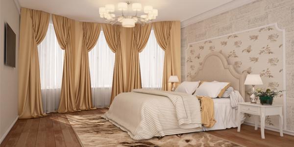 Легкие итальянские шторы для гостиной