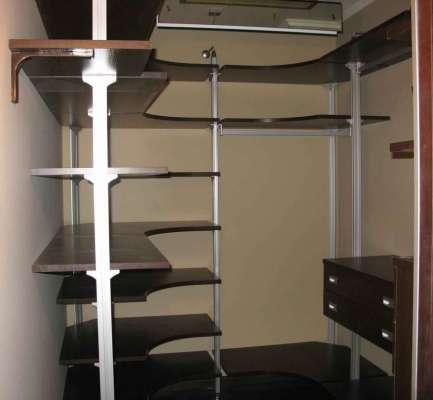 Проекты гардеробной комнаты из кладовки