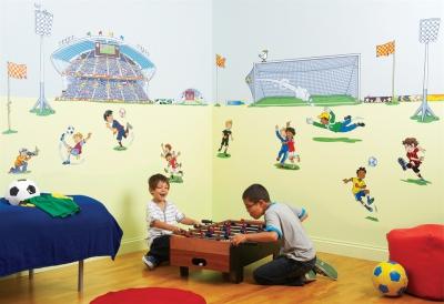 Обои в детскую комнату для мальчиков