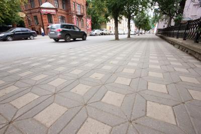 Размеры и виды тротуарной плитки