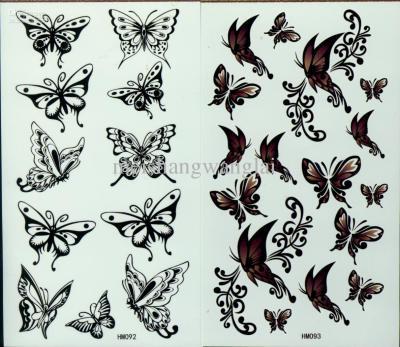 Трафареты бабочек на стену для декора