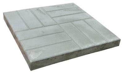 Тротуарная плитка размером 500х500