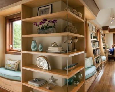 Угловые полки для книг для внешнего угла