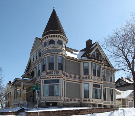 Проекты домов и коттеджей в викторианском стиле