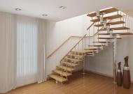 Сделать лестницу на второй этаж