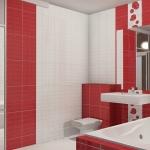 дизайн укладки плитки в ванной комнате фото