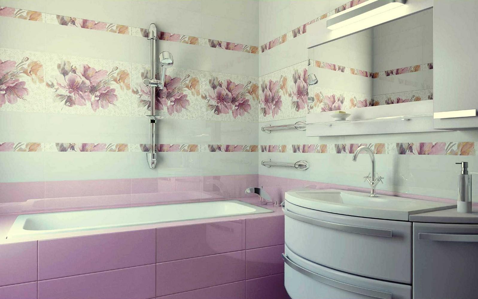 Кафель для ванны в картинках