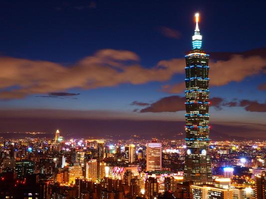 небоскреб Taipei
