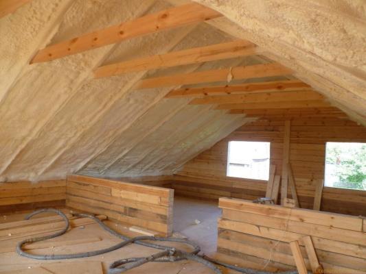 расчет утеплителя на крышу дома