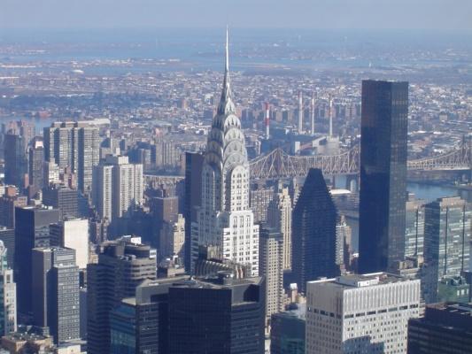 самое высокое здание в мире Chrysler Building