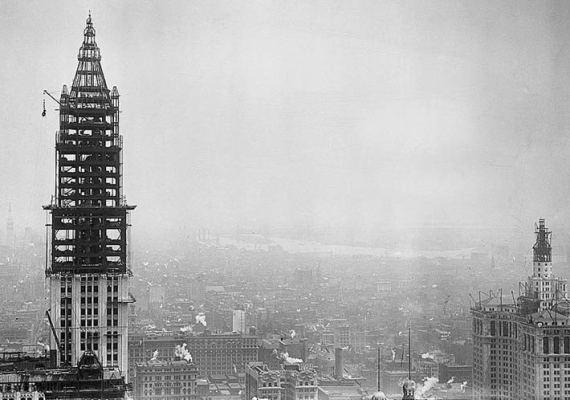 самое высокое здание в мире Woolworth Building