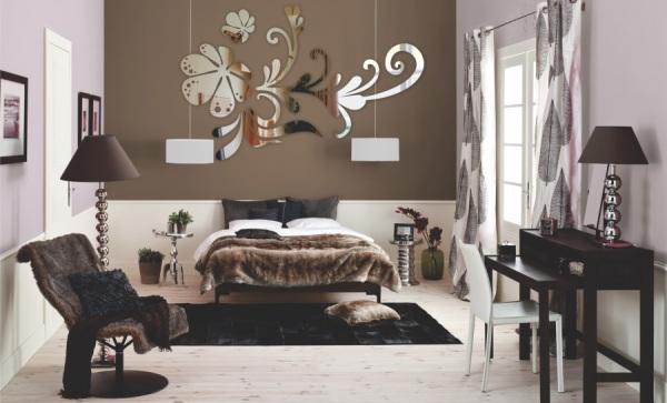 зеркальные наклейки на стену4
