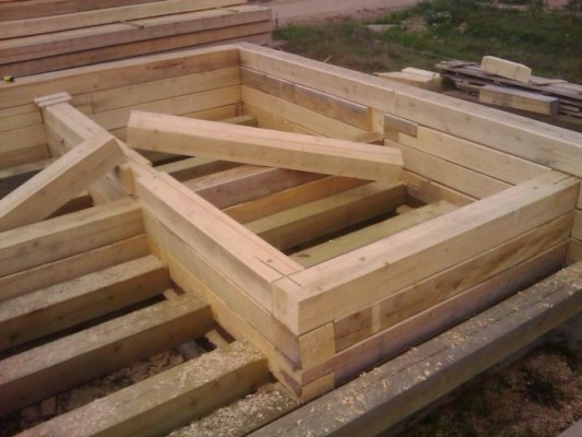 брус для строительства бани