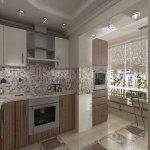 дизайн кухни 16 метров