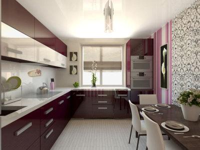 дизайн кухни 16 м2 в современном стиле