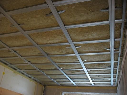 звукоизляция потолка в квартире