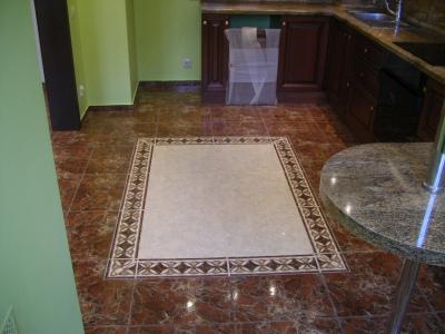 плитка напольная для кухни фото дизайн