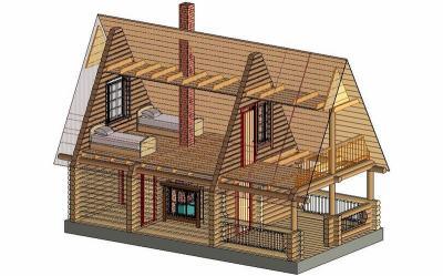 дачные дома проекты фото