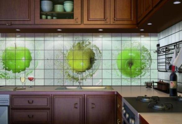кафельная плитка для кухни фото для фартука