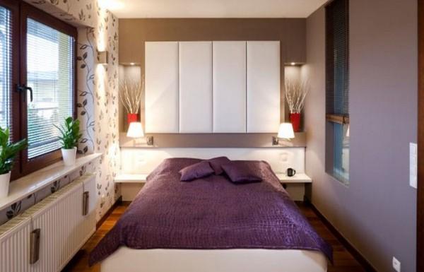 маленькая спальня дизайн фото 8 кв м