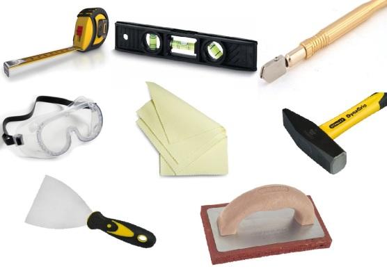 материалы для укладки плитки на фартук