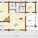 планировка первого этажа в проекте