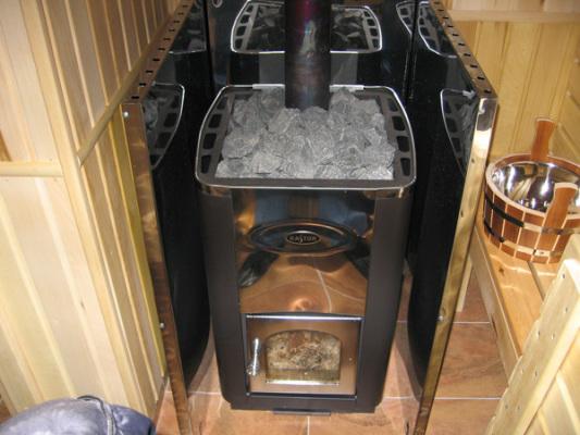 печь для бани своими руками из металла