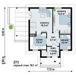 планировка дачного дома с бассейном