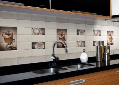 плитка на фартук для современной кухни