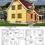 проекты дачных домов бесплатно чертежи и фото