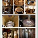 этапы изготовления печи из металла