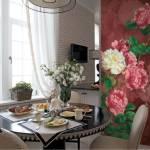 роспись стен на кухне
