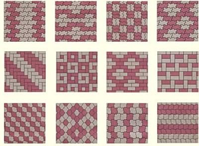способы укладки плитки