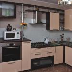 ПВХ панели в отделке кухни