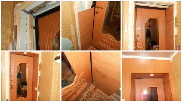 Пошаговая инструкция установки откосов двери