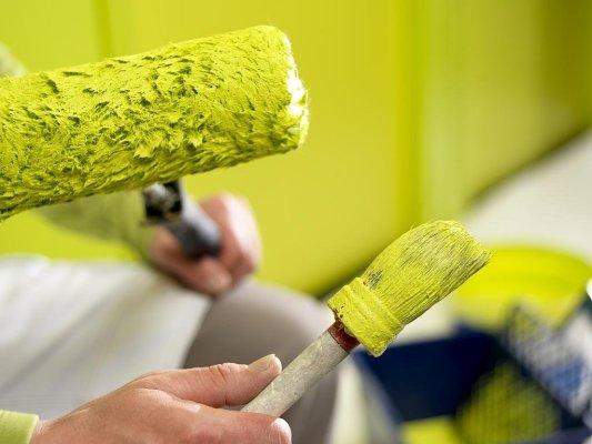 инструменты для окрашивания потолка