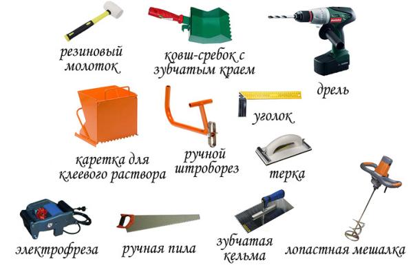 инструменты для строительтсва каркасного дома