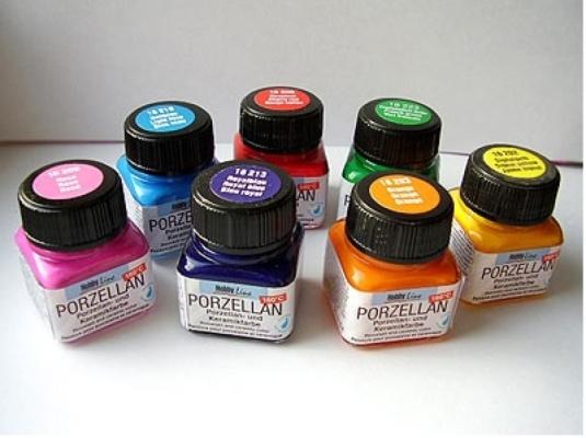 краски для росписи по стеклу