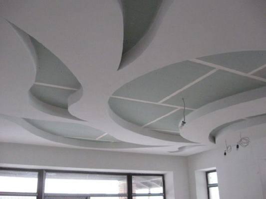 многоуровневый потолк своими руками